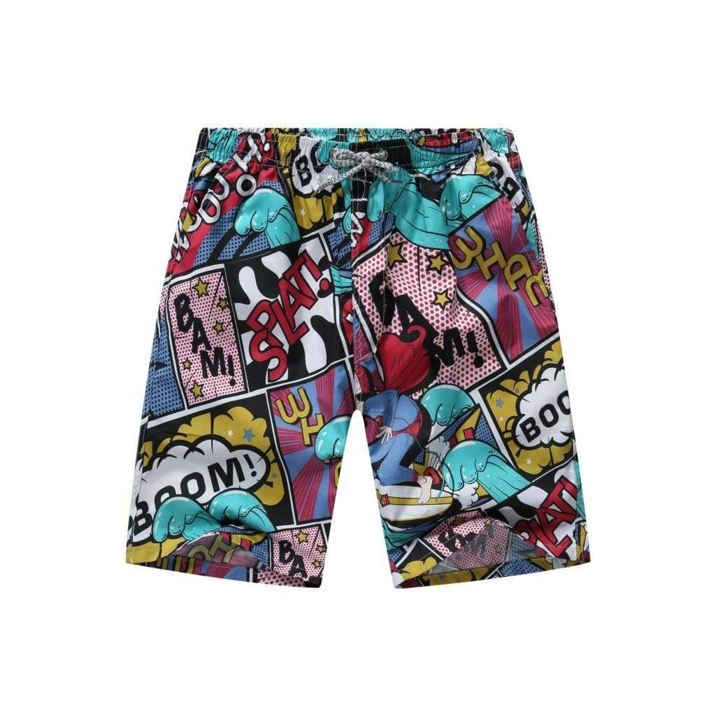 Comic Book Board Shorts