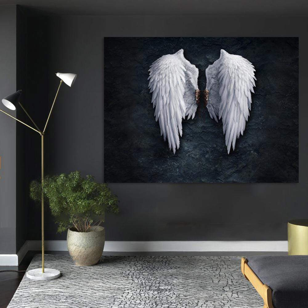 Fallen Angel Canvas Wall Art 20x25cm no frame