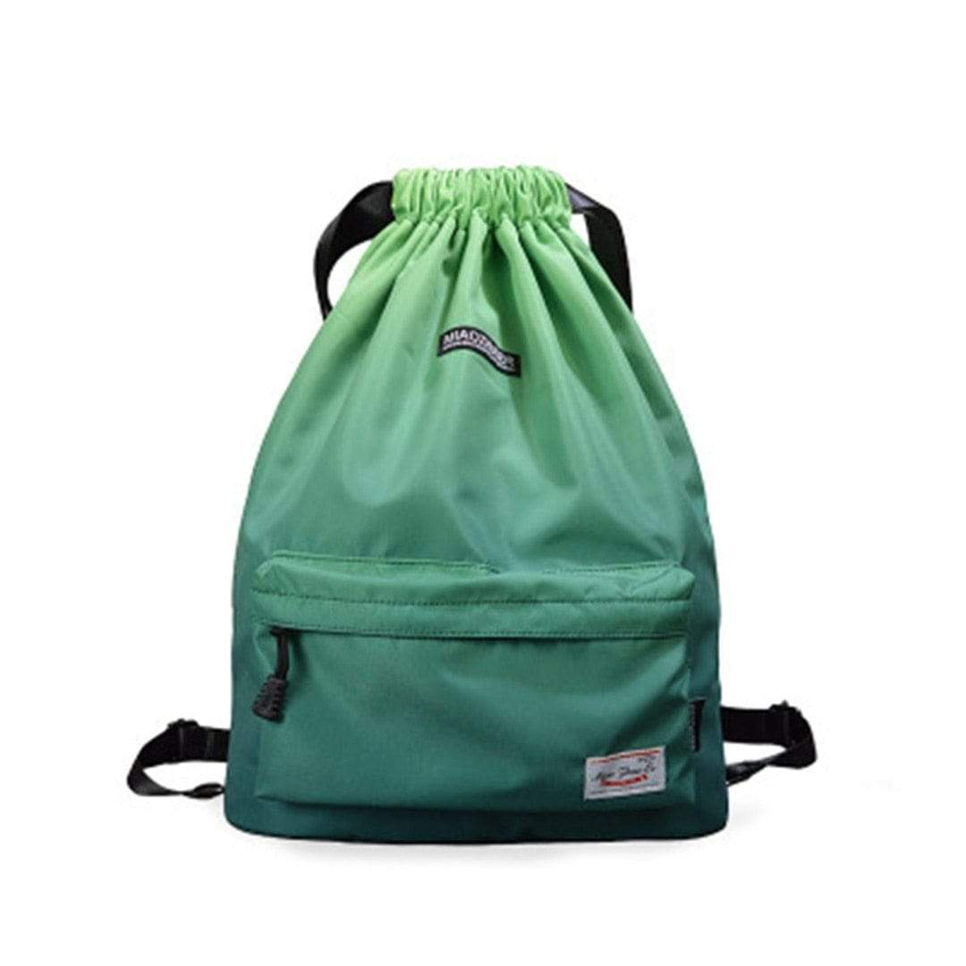 Fellie Gradient Backpack Green