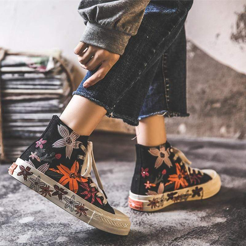 Flower Power Canvas Shoes
