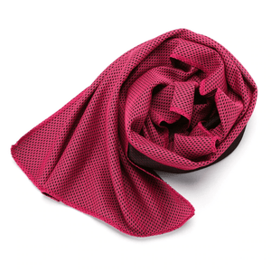 Frost Towel Rose Red