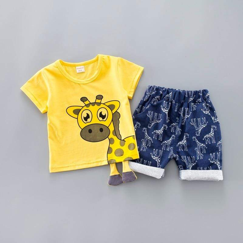 Little Giraffe Clothing Set