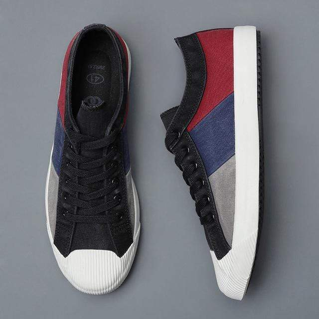 Martin Canvas Sneakers - 50% OFF black top line / 6