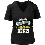 Mommy You're Fired T-Shirt - Women's V-Neck District Womens V-Neck / Black / S