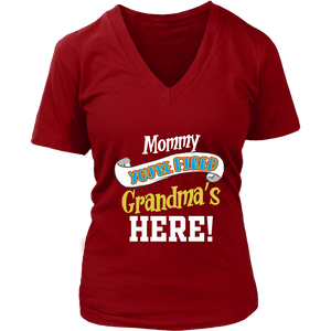 Mommy You're Fired T-Shirt - Women's V-Neck District Womens V-Neck / Red / S