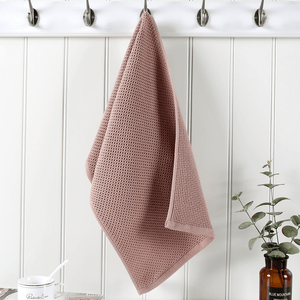 Regal Waffle Hand Towels Brown