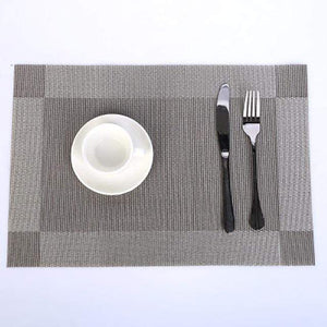 Regale Delight Placemats Silver