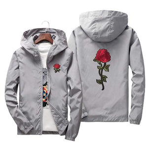 Rose Windbreaker - 60% OFF