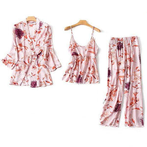 Silk Loungewear Set -60% OFF