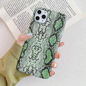 Stacy Snakeskin IPhone Case - 50% OFF For iphone 11 / Green