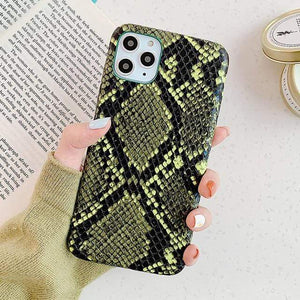 Stacy Snakeskin IPhone Case - 50% OFF For iphone 11 / Yellow