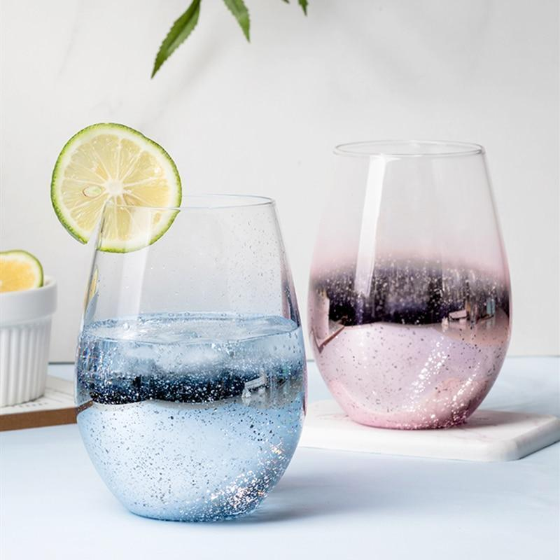 Star Speckled Drinking Glass