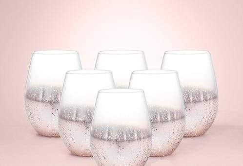 Star Speckled Drinking Glass 6pcs