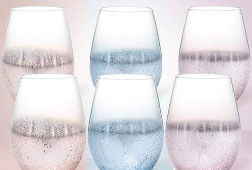 Star Speckled Drinking Glass 6pcs [200000195]