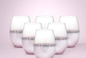 Star Speckled Drinking Glass 6pcs [200006154]