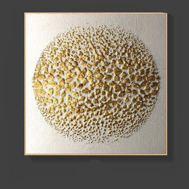 Textured Gold Canvas Art Collection