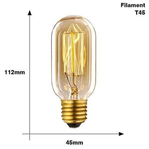 The Edison Light Bulb Collection T45 Filament