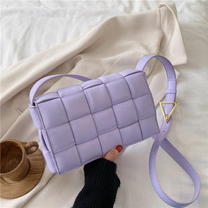 Wabo Shoulder Bag Purple / 23 X 8 X 15 CM