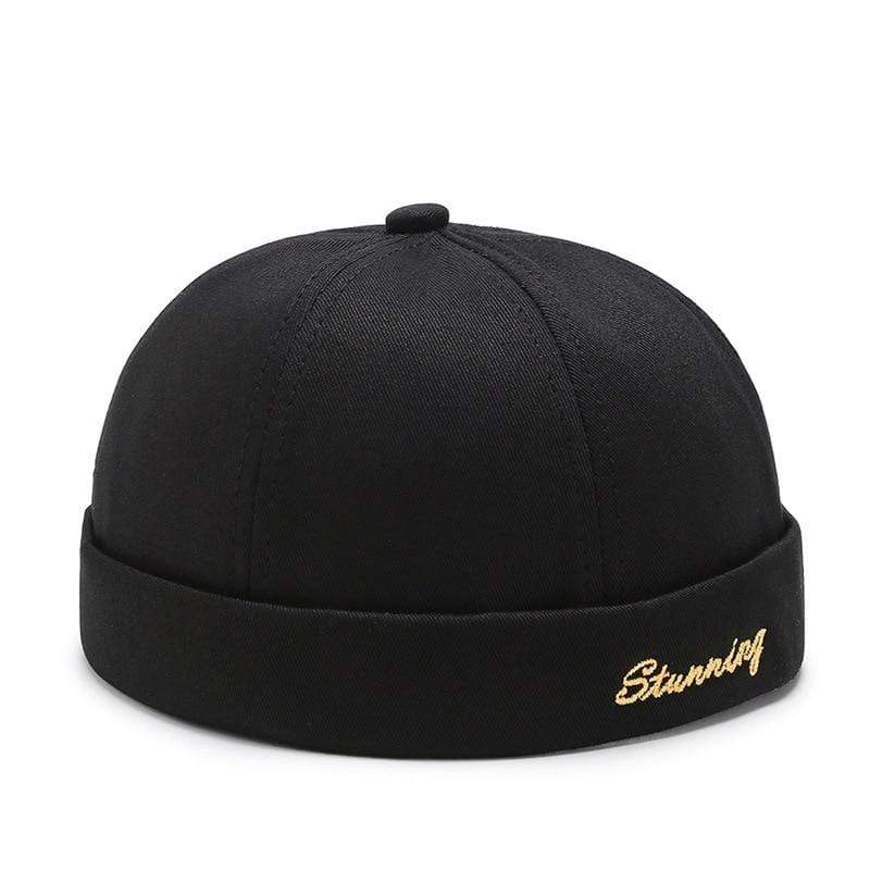 What-A-Melon Brimless Hat Black