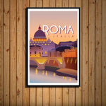 Worldly Travels Canvas Collections 30x40 cm no frame / 14