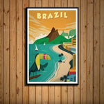 Worldly Travels Canvas Collections 30x40 cm no frame / 4