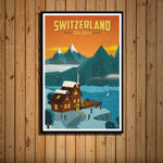 Worldly Travels Canvas Collections 30x40 cm no frame / 6