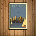 Worldly Travels Canvas Collections 30x40 cm no frame / Toronto