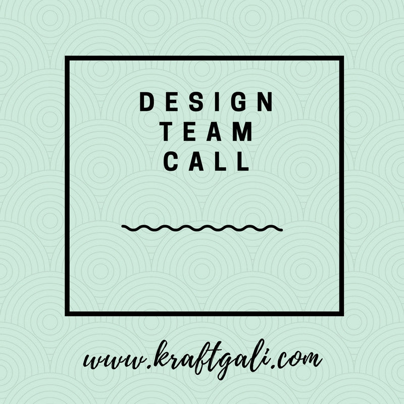 Kraftgali Design Team Call (US Only)