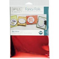 Therm O Web Gina K Designs RED VELVET Fancy Foils Deco Foil