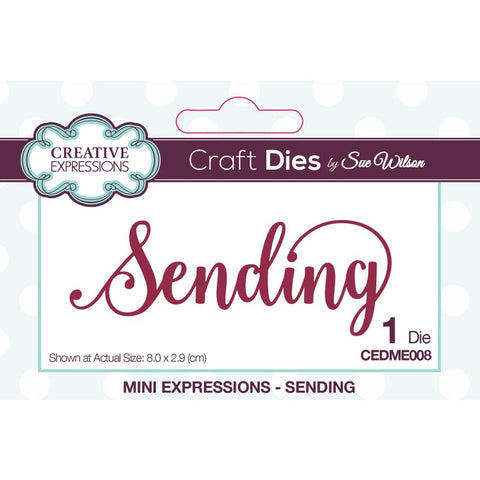 Creative Expressions Craft Dies By Sue Wilson - Sending