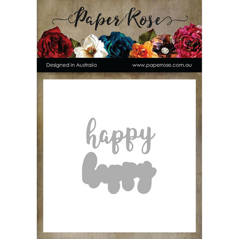 HAPPY Layered - PAPER ROSE DIES