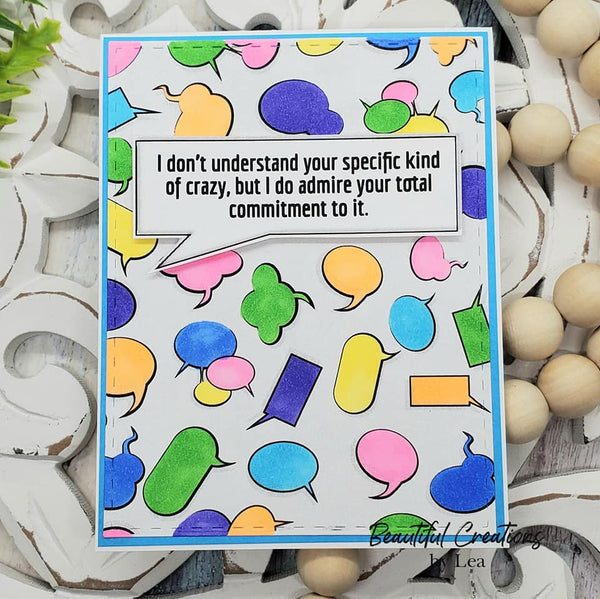 KRAFTGALI MY CURRENT MOOD 6x6 inch Stamp Set