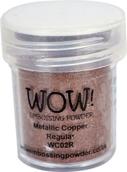 METALLIC COPPER -WOW! EMBOSSING powder