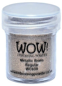 METALLIC BRASS -WOW! EMBOSSING powder