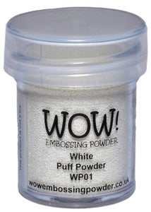 WHITE PUFF-WOW! EMBOSSING powder