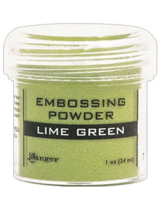 Ranger Embossing Powder 1 OZ - LIME GREEN