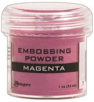 Ranger Empossing Powder 1 OZ - MAGENTA