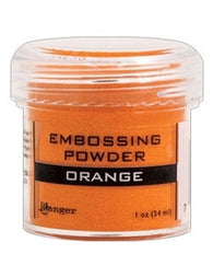 Ranger Empossing Powder 1 OZ - ORANGE