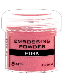 Ranger Embossing Powder 1 OZ - PINK