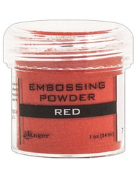 Ranger Empossing Powder 1 OZ - RED