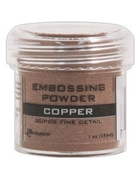 Ranger Super Fine Detail Empossing Powder 1 OZ - COPPER