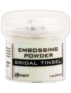 Ranger Embossing Powder  1 OZ - BRIDAL TINSEL