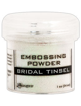 Ranger Empossing Powder TINSEL  1 OZ - BRIDAL