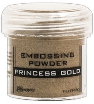 Ranger Empossing Powder 1 OZ - PRINCESS GOLD
