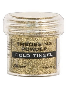 Ranger Empossing Powder TINSEL  1 OZ - GOLD