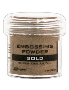 Ranger Super Fine Detail Embossing Powder 1 OZ - GOLD