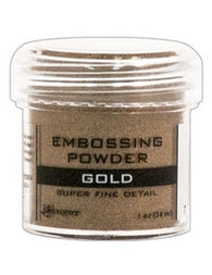 Ranger Super Fine Detail Empossing Powder 1 OZ - GOLD