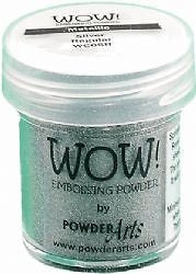 METALLIC SILVER ULTRA HIGH -WOW! EMBOSSING powder