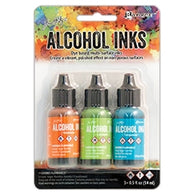 Tim Holtz Alcohol Ink Set SPRING BREAK Ranger TAK52555