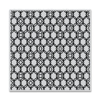 Hero Arts Cling Stamp FILIGREE PATTERN Bold Prints